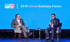 Seng Yee Lau Decodes Tencent's Global Innovation Model at the China Business Forum 2019