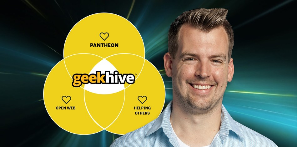 GeekHive Open-Source Technical Lead Drew Nackers Becomes a Pantheon Hero