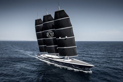 Oceanco's 106.7m Black Pearl win big at the World Superyacht Awards 2019 (PRNewsfoto/Oceanco)