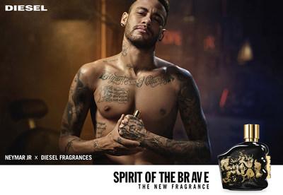 Neymar Jr. x Diesel Fragrances Launch Spirit of the Brave