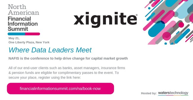 Xignite to Speak at NAFIS