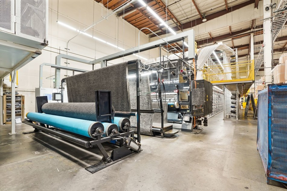Redaptive, Energy Efficiency Leader, Recognized by the U.S. Department of Energy for Achieving Better Buildings Challenge Financial Ally Goal. Image above: Bentley Mills City of Industry Manufacturing Facility. Courtesy of Bentley Mills.