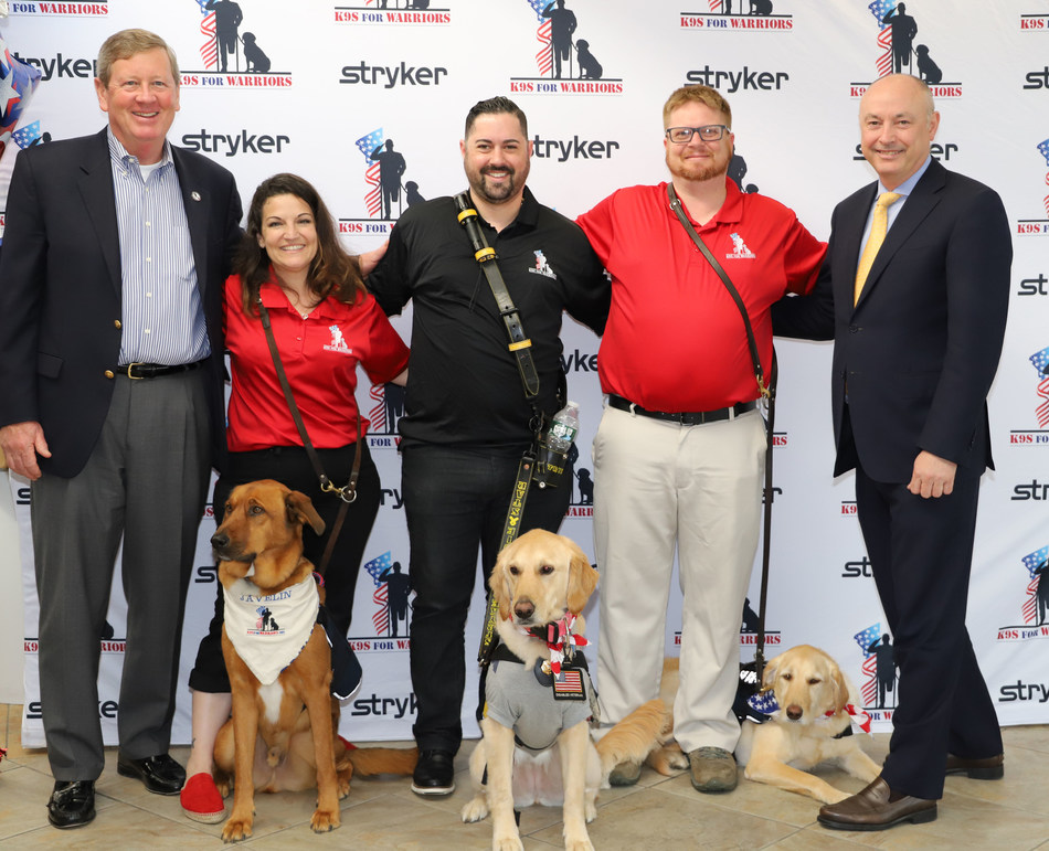 Stryker Honors Veterans with Largest Single Donation of Five