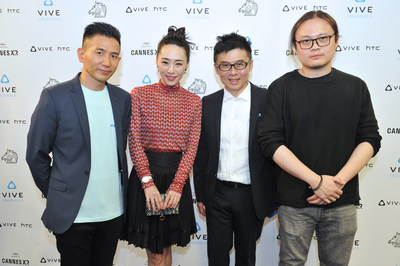 Cannes Film Festival Nominated Director Midi Z and Qiu Yang Attended the VR Film 5x1 Screening Event