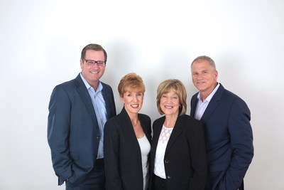 Leading Edge Real Estate Ownership Group; left to right, Steve Chuha, Linda O'Koniewski, Eileen Hamblin, Paul Mydelski