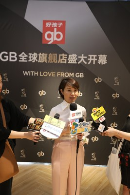 Ms. Jiang Rongfen, Goodbaby's CEO of the China market