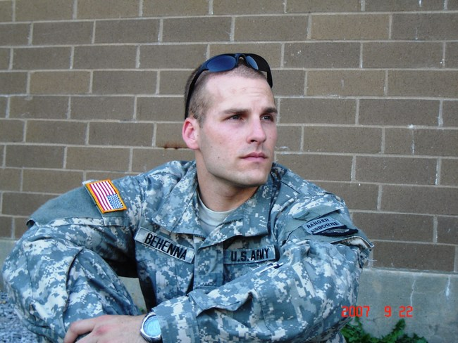 Michael Behenna, prior to his deployment to Iraq. (Photo courtesy of the Behenna family.)