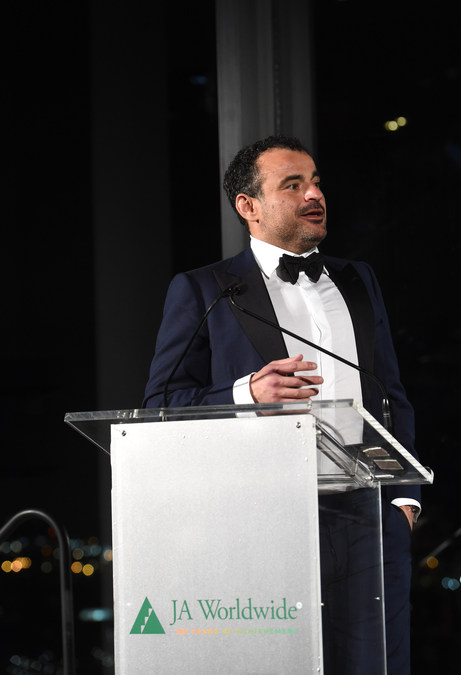 Omar K  Alghanim Honored For Nurturing A New Generation Of