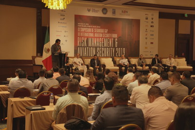 Raúl Revuelta, CEO de GAP, inaugura IX Simposium de Seguridad GAP y III International Aviation Security Forum.