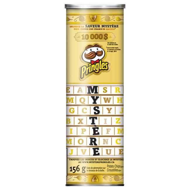 This summer, Pringles is releasing a new Mystery Flavor, giving fans the ultimate opportunity to taste and guess the flavor for a chance to win a $10,000 prize.
