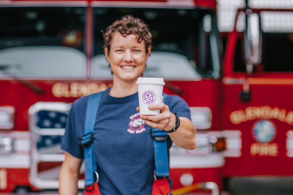 Heroes at Heart Exclusive Coffee & Tea Blends Benefitting First Responders.