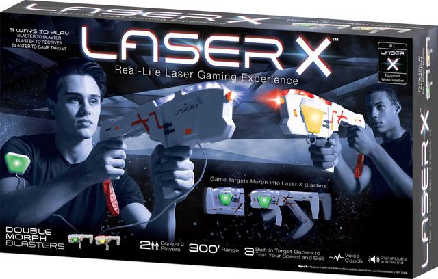 Laser X Gaming Infra Red Blasters Long Range//Gaming Tower//2 Player Pack