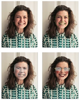 SentiMask 2.0 SDK from Neurotechnology can be used to create a variety of interactive and entertainment applications, from mapping a textured mask or an animated avatar upon a user's face to controlling the facial expressions of a 3D character.