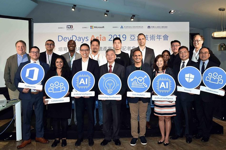 Microsoft DevDays Asia 2019 Leveraging Cross-Disciplinary Skills for Next-Gen AI Talents in Taiwan