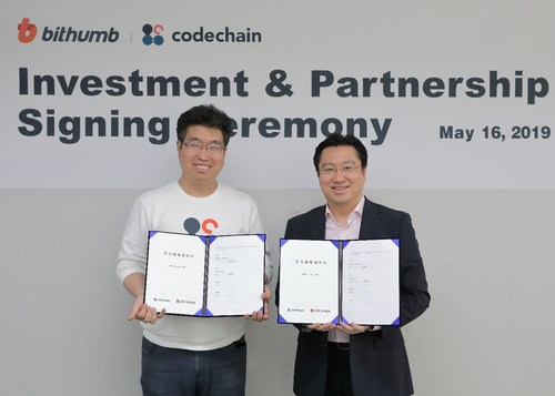 Bithumb to Strengthen Its Cooperation with a Blockchain Firm to Dominate the Security Tokens Market. Bithumb is actively pursuing its lead through measures such as STO platform development and MOU with Standard & Consensus (SNC), a firm in midst of codebox investment.