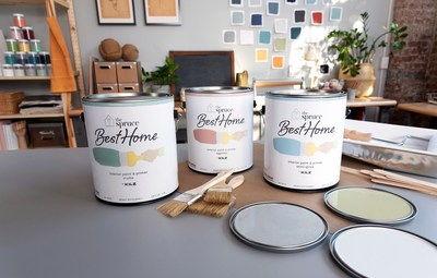 The Spruce Best Home paint collection