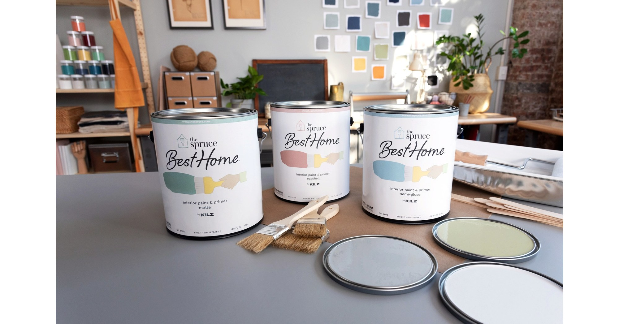 Dotdash Brand The Spruce Launches First-Ever Paint Collection