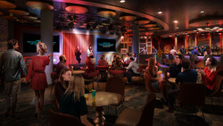 Nights out will take on a whole new meaning on board the newly amplified Oasis. The new Spotlight Karaoke on the Royal Promenade is where budding singers will be able to rock out to their favorite tunes at the dedicated karaoke venue's main stage or one of two private rooms.