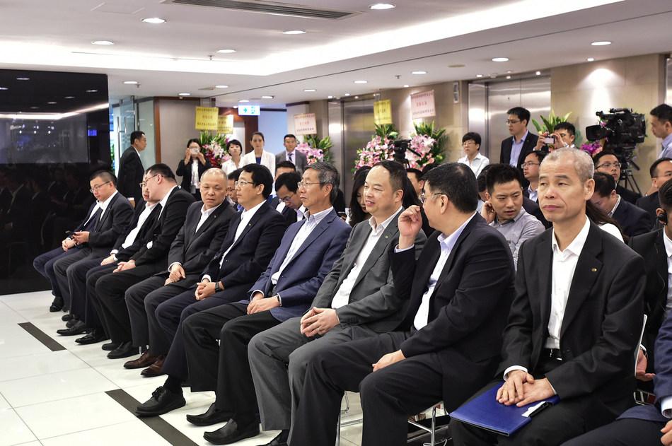 Invités réunis lors de la cérémonie d'ouverture (PRNewsfoto/GAC Motor)