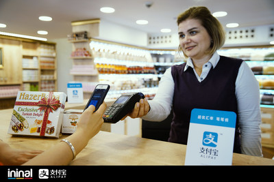 Alipay and ininal Partnership