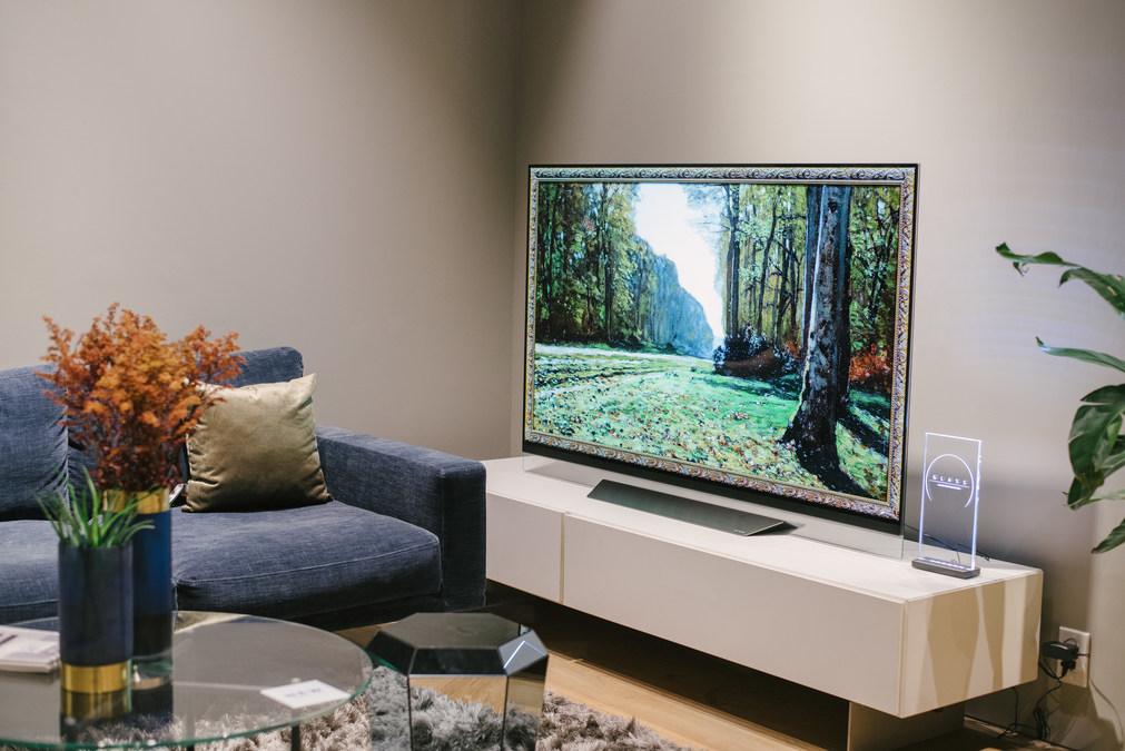 Stor LG Electronics - BoConcept Collaboration Earns 2019 AVA Digital JC-44