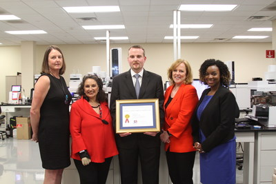 Authentix(R) Receives Export Achievement Award From The U S