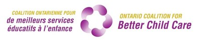 Logo: Ontario Coalition for Better Child Care (CNW Group/Canadian Union of Public Employees (CUPE))