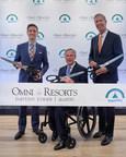 Omni Hotels & Resorts Celebrates Ribbon Cutting Of The Newly Transformed Omni Barton Creek Resort & Spa After $150 Million Renovation