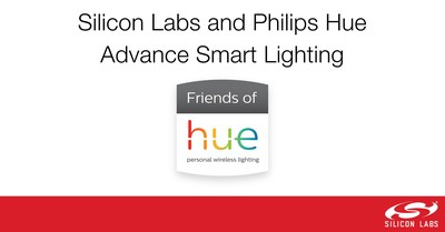 Silicon Labs and Signify are teaming up to advance smart lighting through the Friends of Hue ecosystem.
