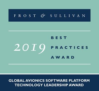 2019 Global Avionics Software Platform Technology Leadership Award