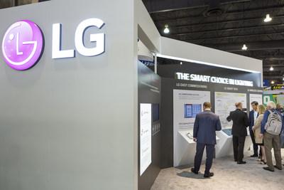 LG Scene Selector and Linear Strip Debut at LIGHTFAIR International 2019