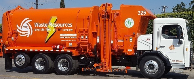City of Carson, California Unveils First All Electric Waste Hauler Truck in Southern California