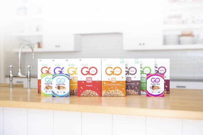 In correspondence with its new look, Kashi GO is launching Kashi GO Maple Brown Sugar Flakes & Clusters. Kashi GO products continue to provide plant-based protein with delicious flavors that people love.
