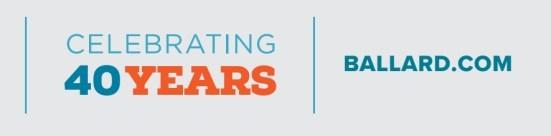 Ballard - Celebrating 40 Years (CNW Group/Ballard Power Systems Inc.)