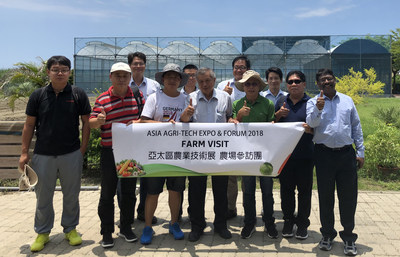 Asia Agri-Tech Expo & Forum offers floricultural key players a professional platform to strengthen the domestic exportation. (PRNewsfoto/UBM Asia Ltd., Taiwan Branch)