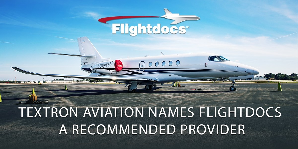 Textron Aviation Names Flightdocs A Recommended Provider