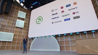 Google I/O 2019, Google's annual developer conference, held at the Shoreline Amphitheater in Mountain View, California.