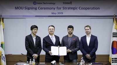 Hyundai's Hdac Technology and TODAQ sign agreement for Strategic Business Cooperation