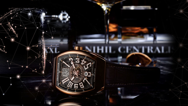 Franck Muller Encrypto Bitcoin Watch