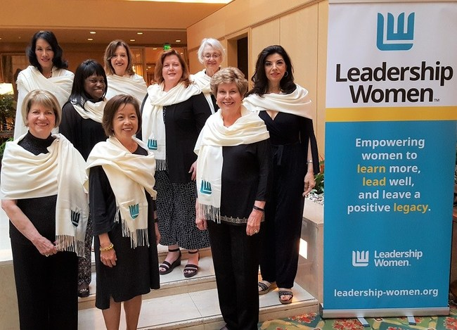 Back row, left to right: Dr. Mary Jane Garza, Dr. Nancy Little, Dale Simons Middle, left to right: Carolyn Schmies, Julie Staggs, Dr. Minita Ramirez Front row, left to right: Lana G. Porter, June SL Chan, Alice Reinarz (Not pictured: Susan Britt, Amy Lait Marcus, Audrey Selden)