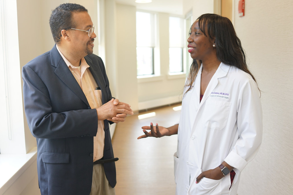 Vascular Surgeon Makes Discovery that Saves Brooklyn Man's Foot