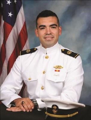 Midshipman Andrew Bouchot