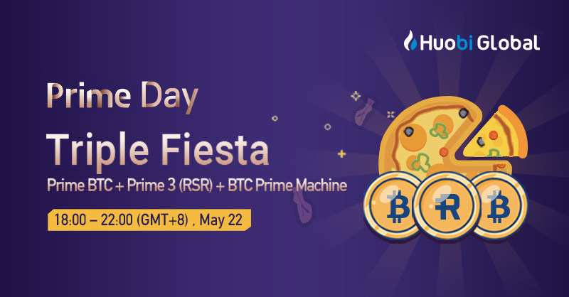 Huobi Prime Day with launch of Reserve and BTC sale