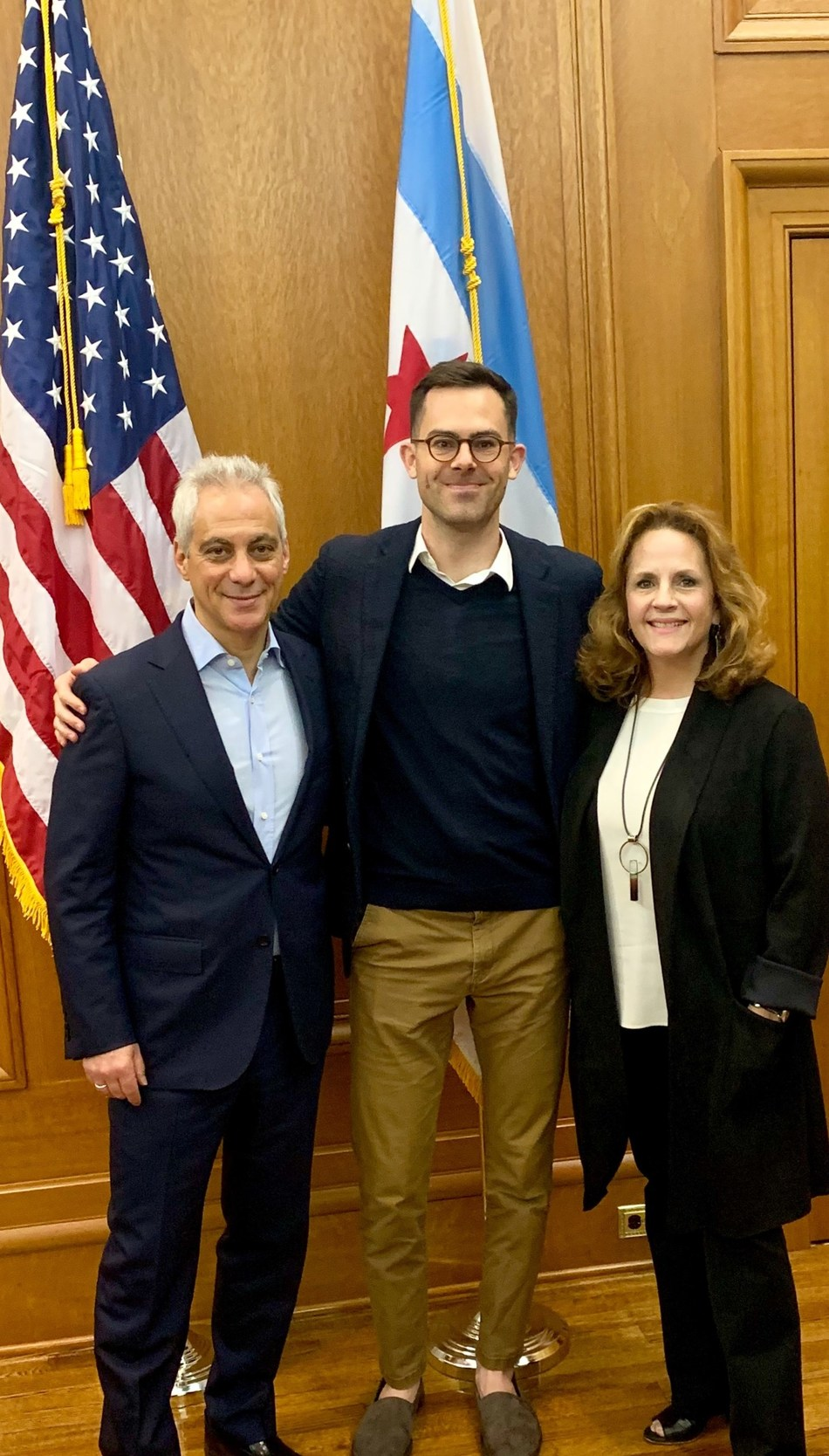 Rahm Emanuel - Former Mayor of Chicago, Joe Scanlin - Co-Founder and CEO of Scanalytics Inc, Lori Healey - CEO of MPEA