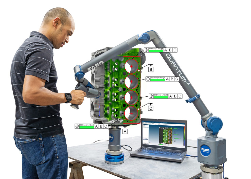 FARO CAM2 2019 Software offers the best integrated FARO hardware experience and ensures that any operator can quickly and easily accomplish their measurement tasks.