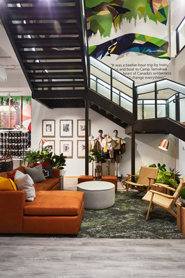 Roots Chicago: Nature Lounge (CNW Group/Roots Corporation)