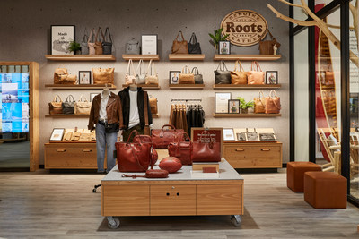 Roots Chicago: Leather Lounge featuring Limited Edition Horween Leather Collection (CNW Group/Roots Corporation)
