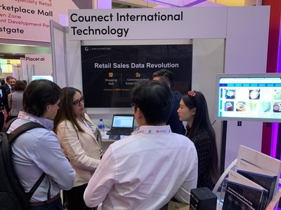 A GREAT RETAIL SALES DATA REVOLUTION: Counect International Technology debuted at ICSC RECon 2019