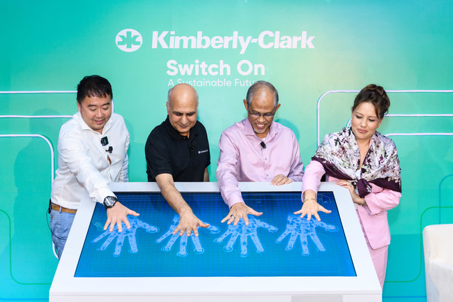 Kimberly-Clark switched on one of Singapore's largest solar energy installations at its manufacturing facility in Tuas, which produces Huggies diapers and Huggies baby wipes. The 7,730 photovoltaic panels mounted on its roof will generate 3.5 Gigawatt hours of clean energy.