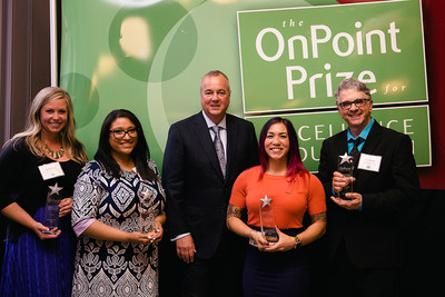 OnPoint Community Credit Union Announces Winners for the 2019 Prize for Excellence in Education